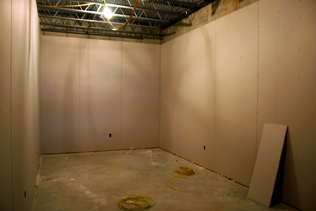 Studio Under Construction