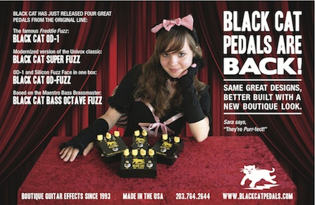 Black Cat Pedals ad